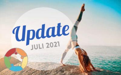 Update Juli 2021